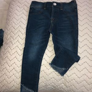 Fashion toddler blue jeans